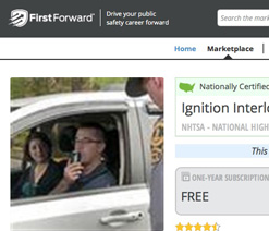 Online Ignition Interlock Course screenshot