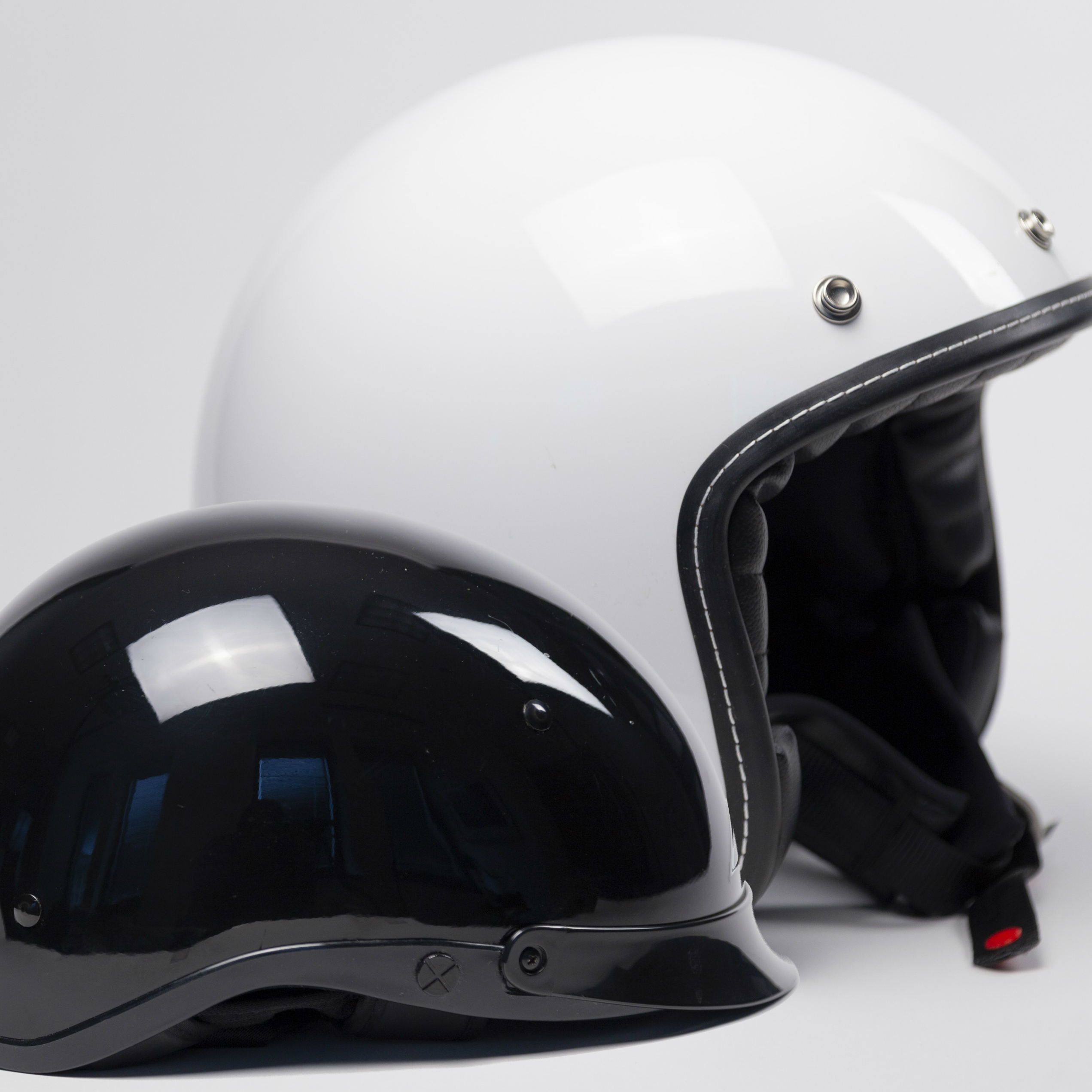 Half Helmet and Open-Face Helmet
