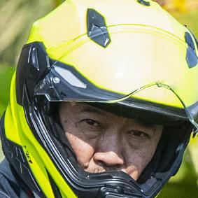 Reflective Motorcycle Helmet