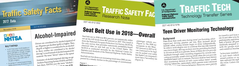 Lifesavers Conference 2019 Traffic Safety Facts section banner