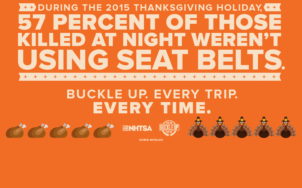 Thanksgiving Seat Belts Graphic
