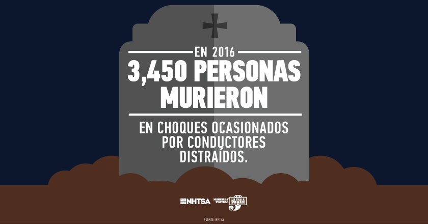 Spanish distracted infographic tombstone
