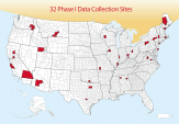 CISS Map 32 Data Collection Sites