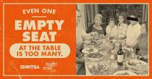 Ad: Even one empty seat at the table is too much