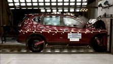 2015 Nissan Rogue Front Crash Test