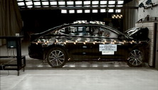2015 Acura TLX Front Crash Test