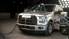 2016 Ford F-150 Regular Cab Side Crash Test