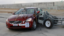 2018 Volvo S60 Cross Country Side Crash Test