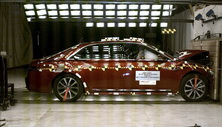 2019 Lincoln Continental Front Crash Test