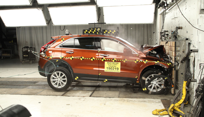 2019 Cadillac XT4 Front Crash Test
