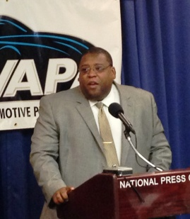 NHTSA Administrator David Strickland announcing VIN look-up ruling
