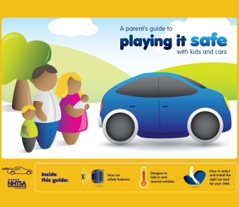 Image of Playing It Safe child safety brochure