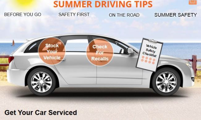 NHTSA Summer Driving Tips