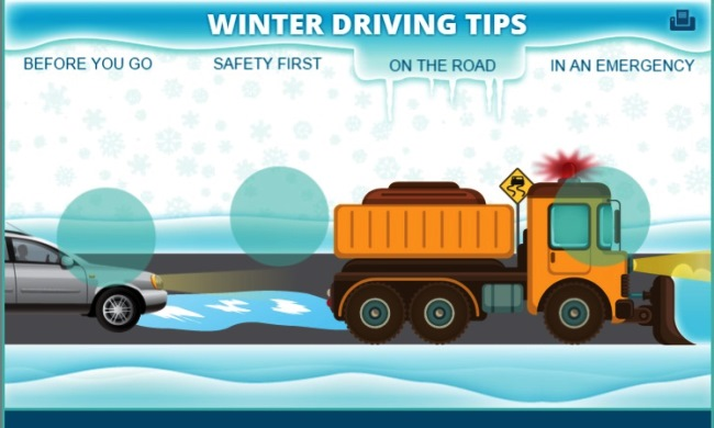 NHTSA's Winter Driving Tips: Know before you go
