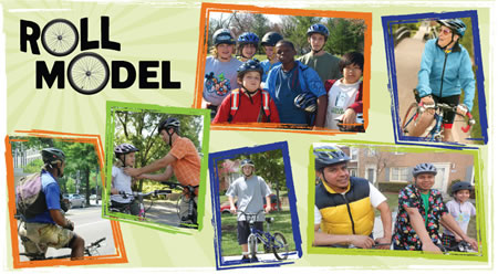 Be a roll model poster