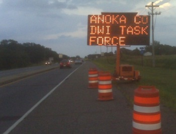 Roadside message board