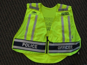 Photo of special marked HVE vest